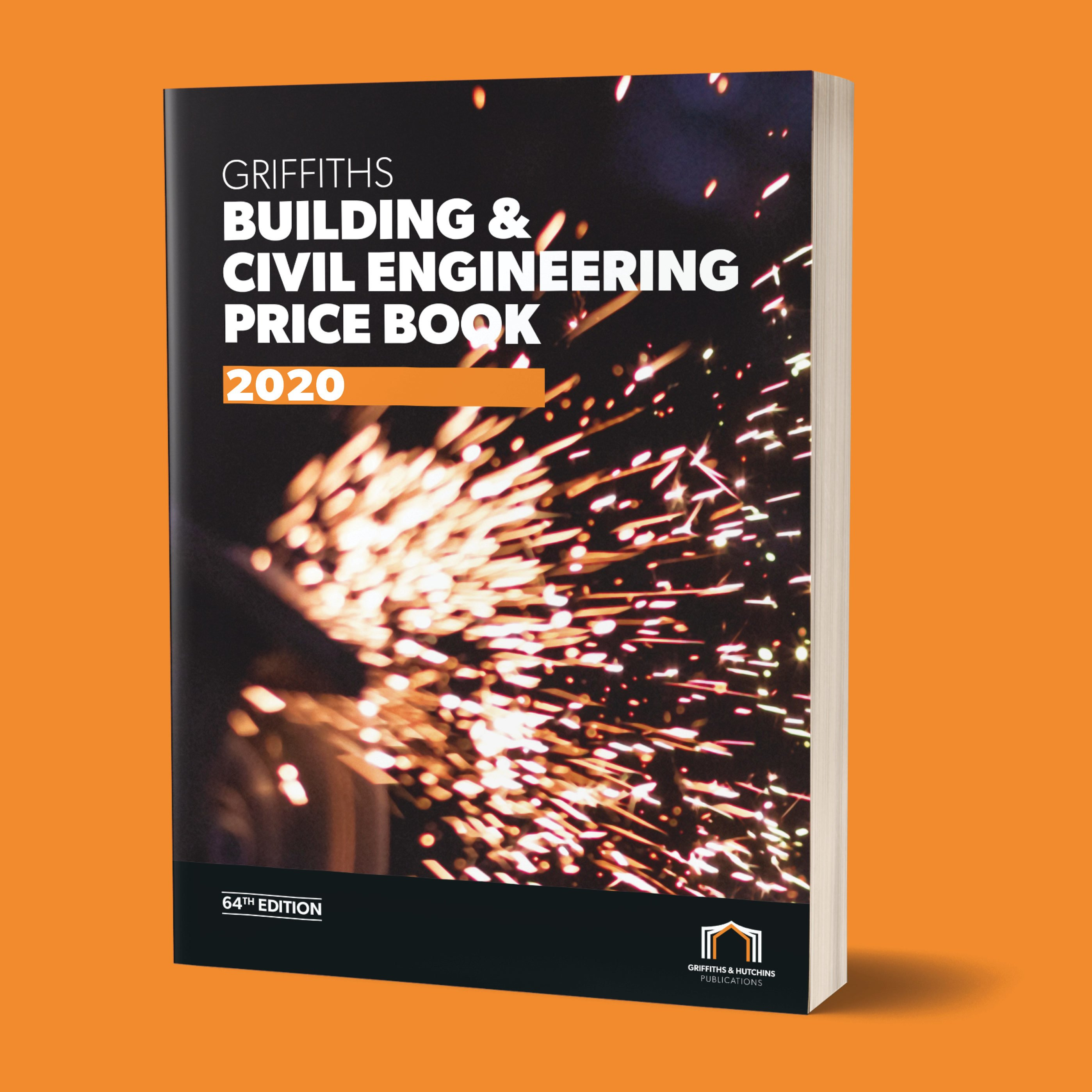 Picture showing the Griffiths Building and Civil Engineering Price Book cover
