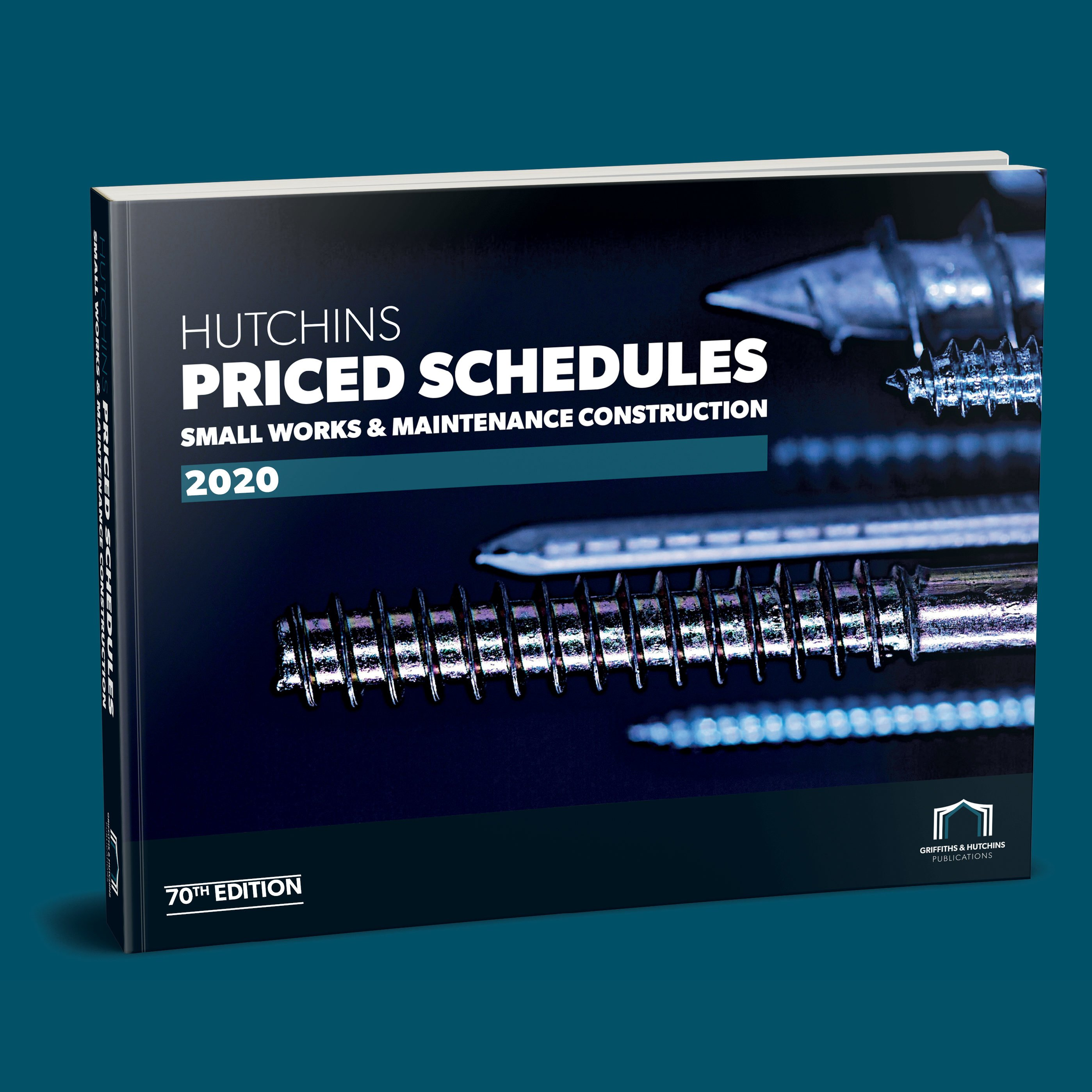 Picture showing the Hutchins Priced Schedules cover