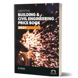 Picture showing the Griffiths Building & Civil Engineering Price Book cover